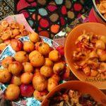 Заготовка абрикосов - фото процесса