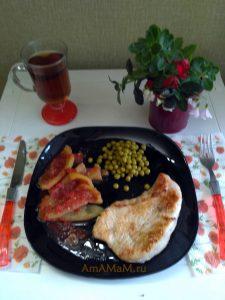 Приготовление стейков из индейки - фото и рецепт