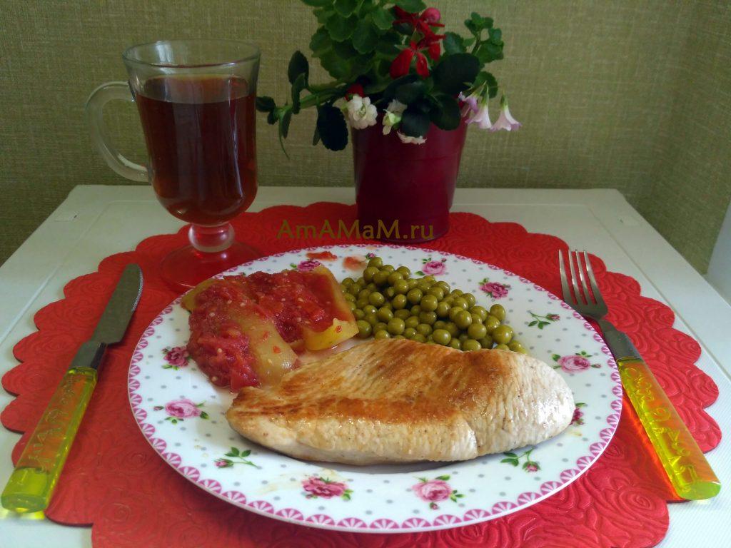 Рецепт стейков из индейки