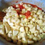 Рецепт заготовки из кабачков в томатном соусе