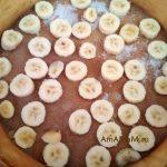 Банановый слой пирога
