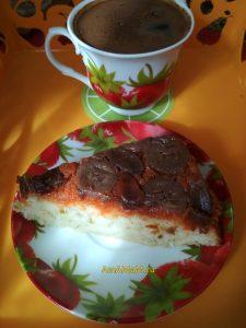 Вкусный морковно-банановый пирог с финиками