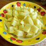 Как нарезать картофель в суп