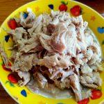 Мясо со свиных ребрышек