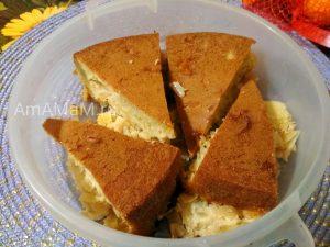 Пирог с капустой - бездрожжевое тесто на яйцах и соде