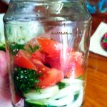 Как засолить овощи (помидоры и огурцы) в газированной минералке