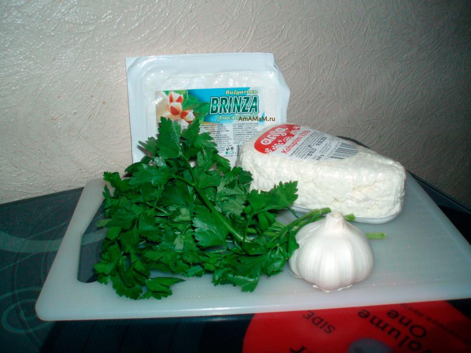 Что нужно для сырно-творожного паштета (намазки для бутербродов) по-венгерски