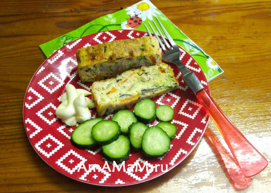 Что приготовить с консервированной рыбой - рецепт суфле