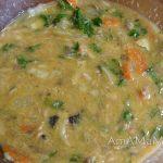Рыбное суфле из консервов в жидком виде (до запекания)