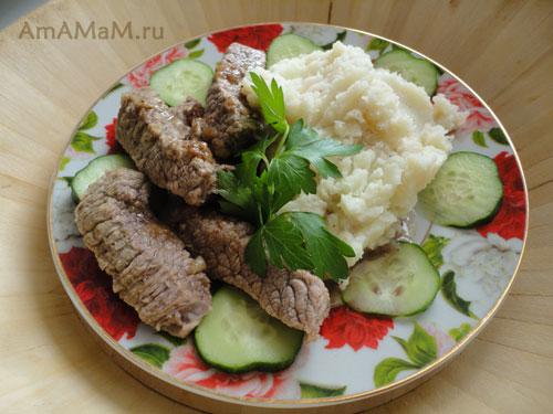 Что приготовить из говядины - вкусный рецепт мягкой и нежной говядины!