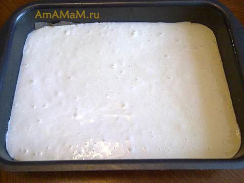 Приготовление коржей для детского торта с мастикой маршмэллоу