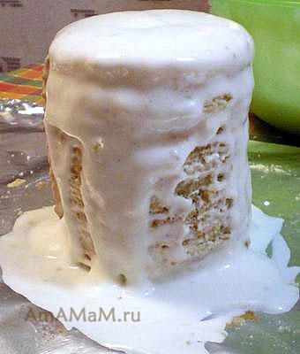 Изготовление торта Кружка пива