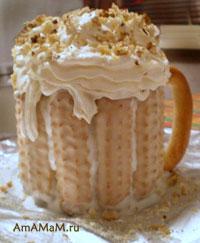 Шикарный, вкусный, необычный торт для мужчин - Пивная кружка