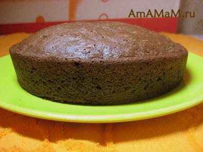 Коржи для торта бисквитные - как приготовить