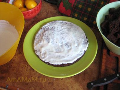 Рецепт сметанного крема для торта (бисквитный Санчо-Панса)
