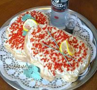 Вкусные рецепты: как сделать шарики красной икры (икринки) для торта Бутерброды с красной икрой