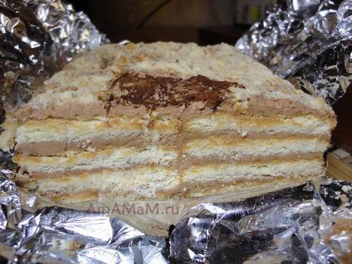Какой высоты сделать торт из печенья