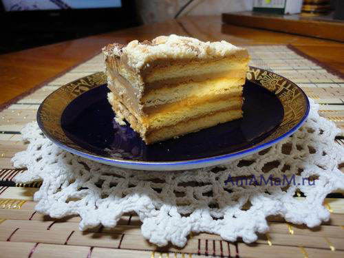 Делаем торт из покупного печенья без выпечки
