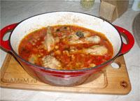 Вкусные рецепты: что сделать из курицы и овощей в казане