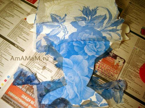 Как приклеить салфетку к доске для декупажа кухонной доски