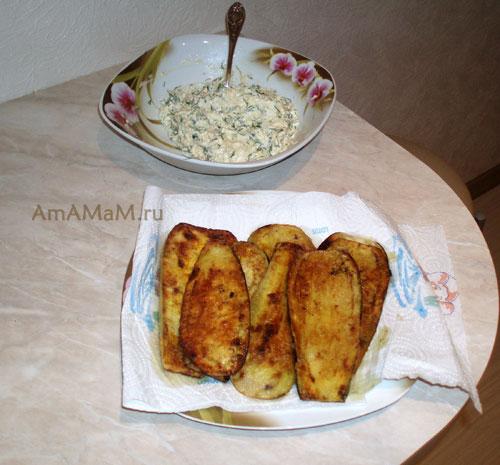 Как сделать вкусную закуску с баклажанами