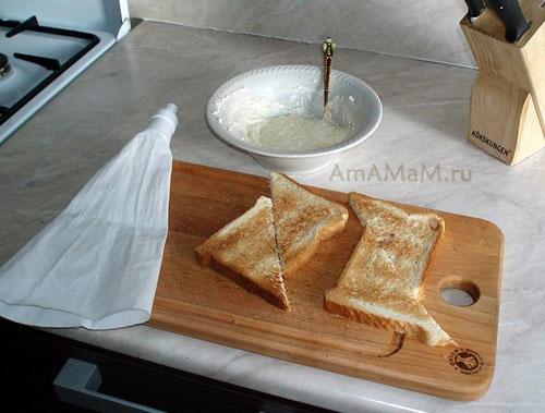 Готовим гренки в тостере или в духовке