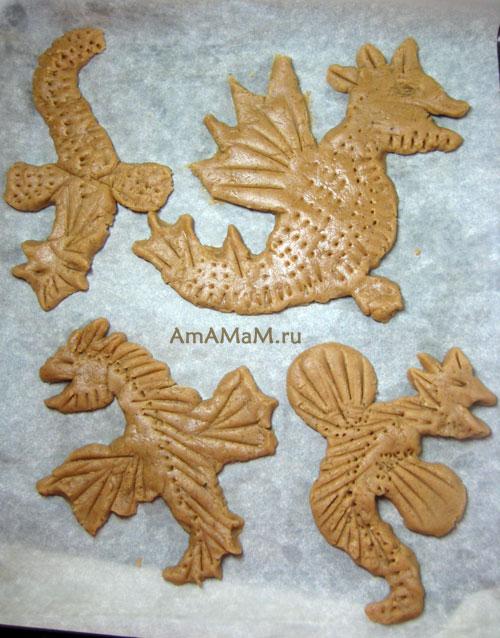 Технология изготовления драконов своими руками в домашних условиях - поделка к Новому году (съедобная)