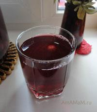 Простой рецепт компота из ягод на зиму