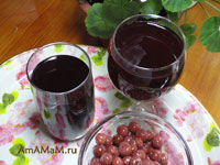 Рецепт вишневого компота - заготовки