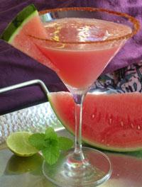 Как делать коктейль из арбуза - простой рецепт!