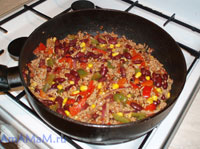 Мексиканское блюдо Чили кон Карне - -рецепт и фото