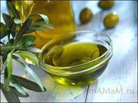 Оливковое масло, оливки, веточка масличного дерева (Оливы)