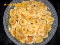 Рецепт бананового пирога с финиками и сыром