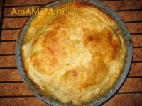 Банановый пирог с финиками - рецепт и фото