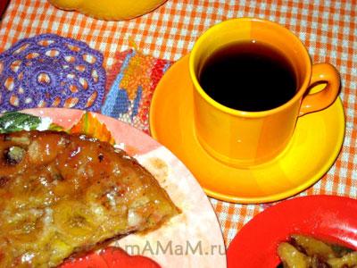 Финиковый пирог с бананами и сыром - вкусно и необычно