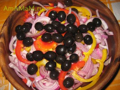 Как делать греческий салат - классический рецепт и фото блюда
