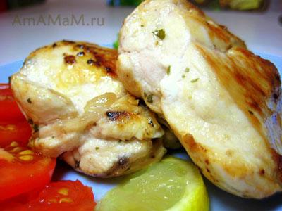 Способ приготовления сочной грудки - жарим на сковороде с лимоном