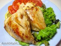 Жареная куриная грудка - нежная и сочная