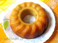 Кекс с черносливом, тесто - масляный бисквит
