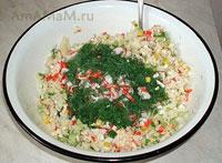 Рецепты салатов с крабовыми палочками
