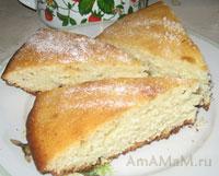 Простой и вкусный пирог Манник