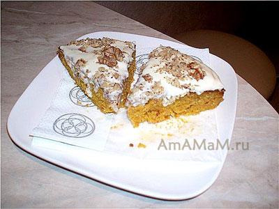 Кусочки очень вкусного торта с маскарпоне - нежные, сочные!