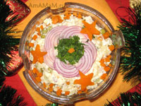 Рецепт традиционного салата Оливье