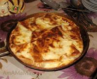 Очень вкусный, сытный, просотй пирог из тонкого лаваша с картофельно-мясной начинкой