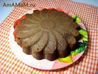 простой шоколадный пирог из подручных продуктов