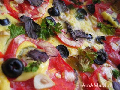 ароматная, сочная, хрустящая пицца!