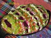 Рецепт селедки под шубой - вкусный праздничный салат