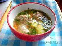 Суп с фрикадельками - рецепт и фото