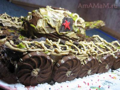 Рецепт Танка - такой торт - лучший подарок мужчине!