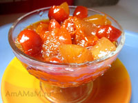 Варенье из яблок с шиповником - рецепт и фото